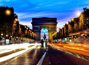 Париж в огнях – Волшебные иллюминации